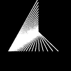 Dreiecke (weiß)