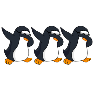 Lustiger Pinguin Dabbing Penguin Dab Geschenk