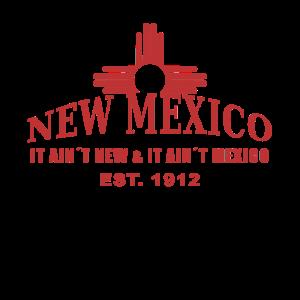 New Mexico mit dem Zia Symbol