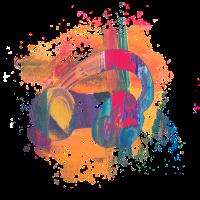 Kopfhörer Art Style