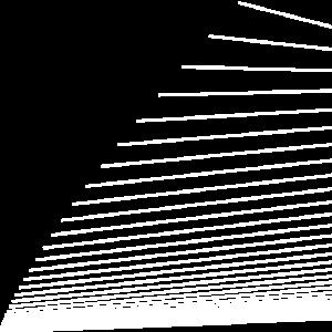 Linien Segel (weiß)