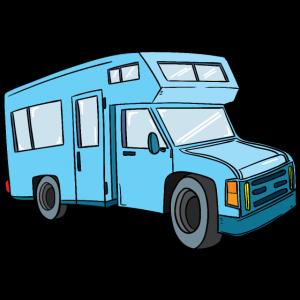 Camper / Wohnwagen / Wohnmobile / Camping / Fahrzeug / Auto