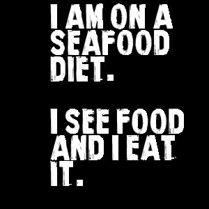 Meeresfrüchte-Diät.
