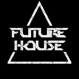Future House Music Geschenk Raver Shirt