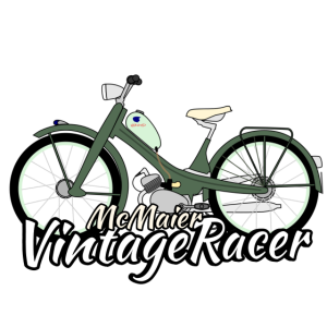 Moped Retro Vintage Racer