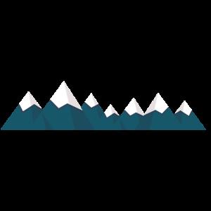 Berge Gebirge Gipfel Bergkette Outdoor Geschenk