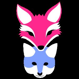 Fuchs für Mutter-Sohn niedliche FamilienKollektion