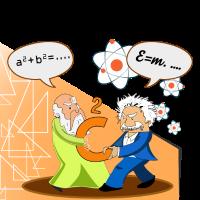 Einstein VS Pythagoras
