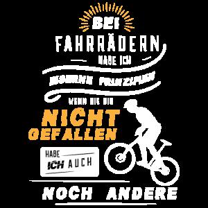 Biker Shirt · Fahrrad Fahren · Prinzipien Geschenk