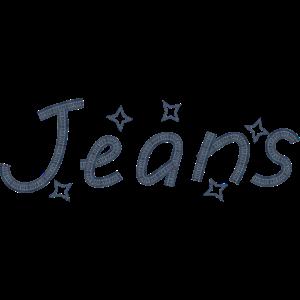 Jeans mit Strenen