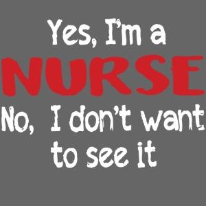 Yes I'm a nurse