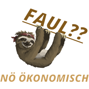 Faul Noe Oekonomisch