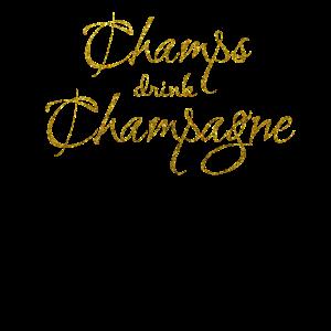 champs trinken champagner