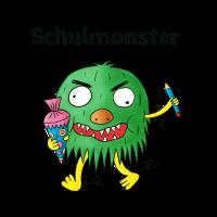 Schulmonster Schule Monster Einschulung Schultüte