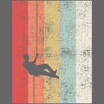 Arrampicata in corda doppia vintage in alpinismo
