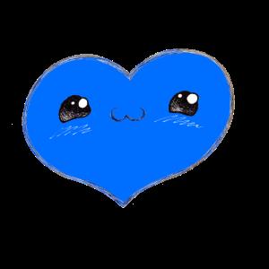 Herzerl 2 blau
