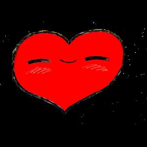 Herzerl rot