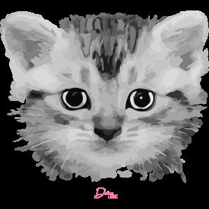 Sweet Cat - Katze Kopf