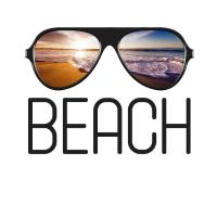 Strand Wellen Meer See Brille Sonnenbrille