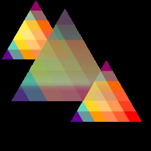Moderne Dreiecke