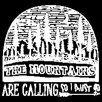 Die Berge rufen, also muss ich T-Shirt gehen