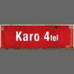 HAMBURG Karo4tel | Ortsschild