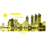 Bangkok Skyline Thailand City Summer