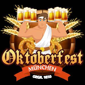 Bierkules Oktoberfest München Wiesn T-Shirt