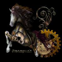 Amazing Steampunk Pferd