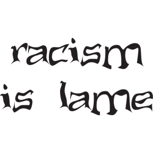 racism is lame