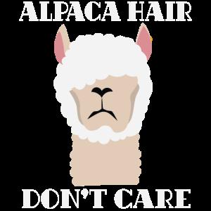 Alpaka Harre Frisur