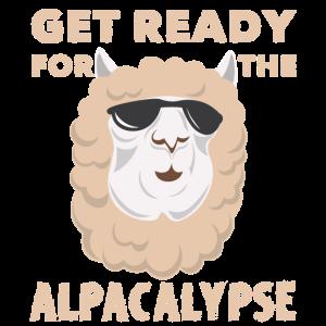 Alpaka Weltuntergang Alpacalypse