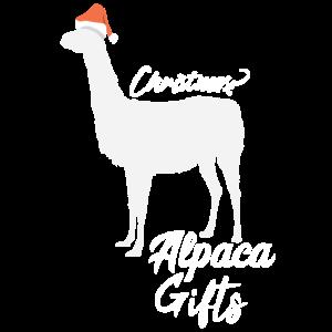 Alpaka Weihnachten Geschenk