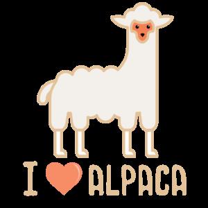 Alpaka Love Geschenk