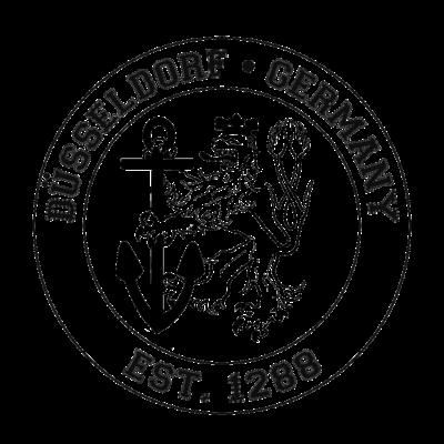 Düsseldorf EST 1288 - Düsseldorf Wappen im University-Style - Uni Düsseldorf,Wappen Düsseldorf,City Shirt,Düsseldorf,Wappen