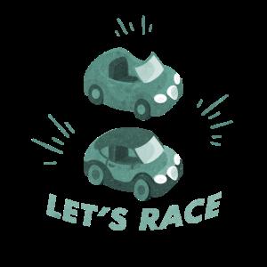 Lets Race Autorennen Rennauto Geschenk Idee