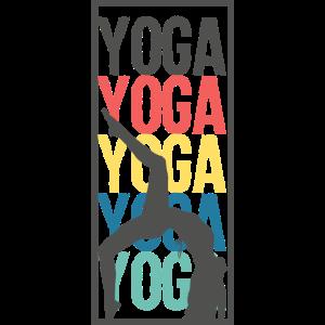 Yoga Nostalgie Geschenk