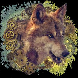 Steampunk Wolf