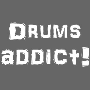 Drums addict white