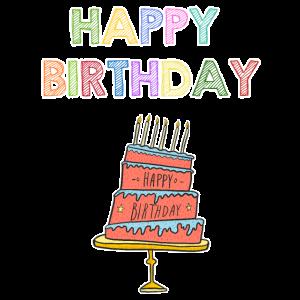 Happy Birthday Shirt Kinder