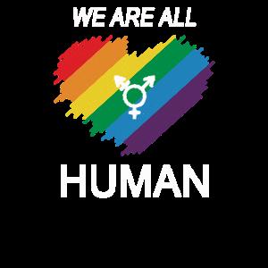 LGBT Transgender alles Menschen stolz Geschenk