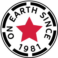Jahrgang 1980 Geburtstagsshirt: on earth since 1981