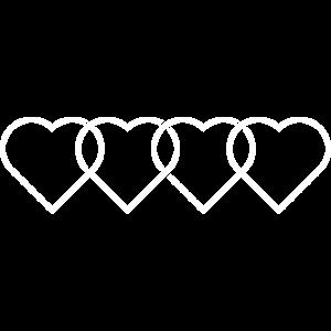 Auto Liebe - 4 Ringe