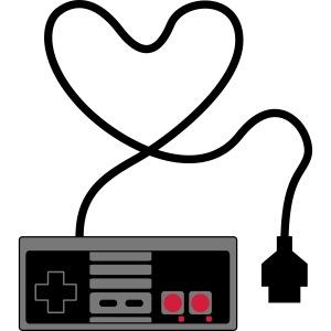 NES Controller Heart