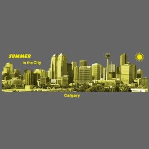 Calgary Skyline Summer
