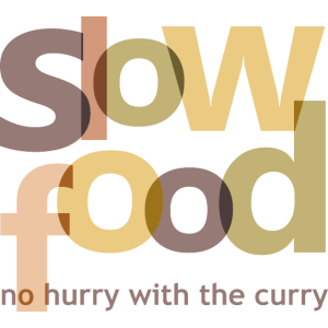 slow food - no hurry with the curry