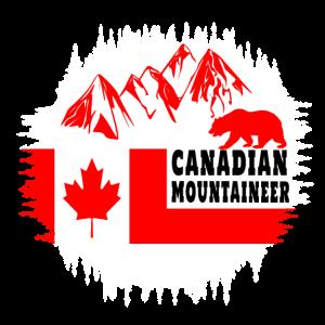 Kanadischer Bergsteiger / Kanada Geschenk Bär