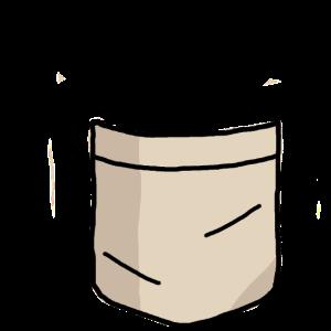 Hemdtasche mit Bierflasche