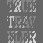 True Traveler Grey design
