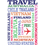 Travel Places design